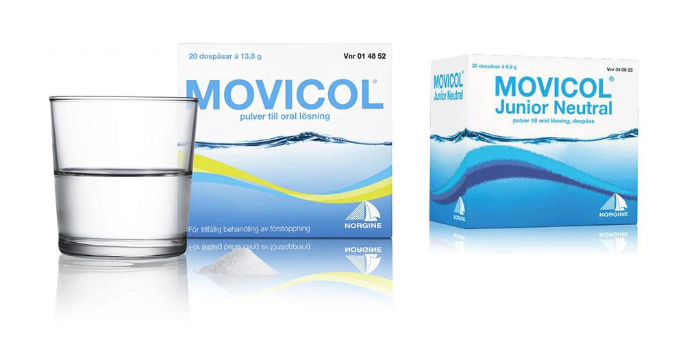 movicol junior receptfritt